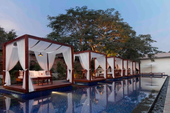India's 1st party resort at Candolim, Goa
