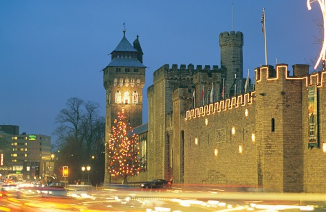 Cardiff (Christmas Lights) Castles