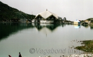 Guruwara is located at the starting edge of the lake