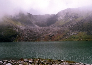 Hemkund lake is surrounded by seven hills which provide regular flow of water to the lake