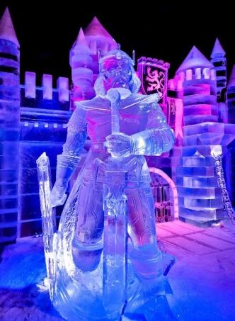 Snow & Ice sculpture festival