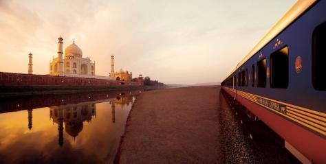 Passing through Taj in Agra
