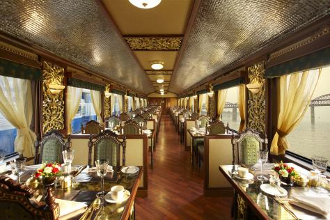 mayur mahal restaurant of the train