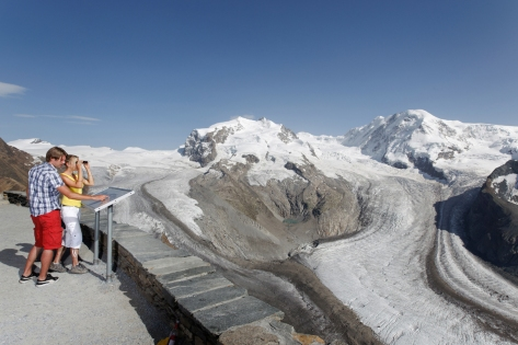 View from Gornegrat