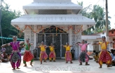 It has been performed in Orissa for centuries by young boys, who dress as women to praise Jagannath and Krishna