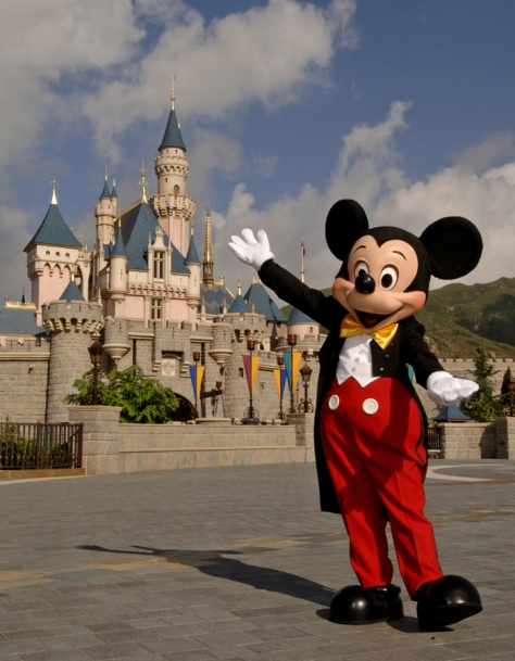 MAGICAL MEMORIES: Mickey Mouse makes every visit to Hong Kong Disneyland Resort magical. Guests of all ages can meet the famous Disney characters at the Hong Kong Disneyland Park, Disney's Hollywood Hotel and the Hong Kong Disneyland Hotel. Hong Kong Disneyland is Disney's first-ever vacation resort in China. (David Roark, photographer)