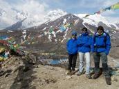 At Nyalam, Tibet on 12th April 2014