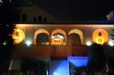 Built with mughal architecture style