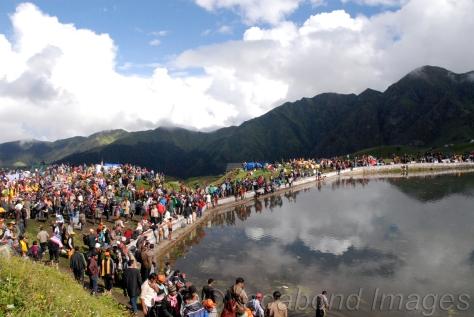 Nanda Devi Rajjaat Yatra 2014 at Bedini Bugyal