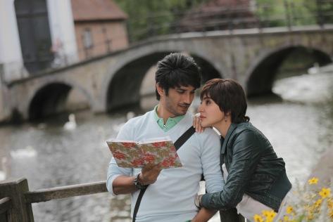 Sushant Singh Rajput and Anushka Sharma at Bruges 2_