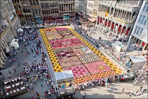 Flower Carpet 2012. Photo: Eric Danhier