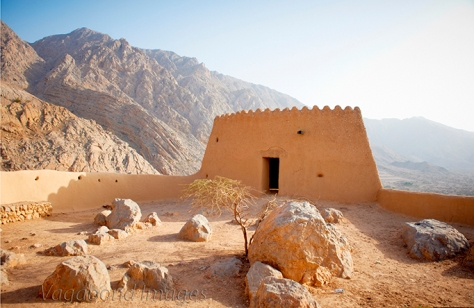 Dhayah Fort at Ras Al Khaimah