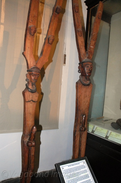 Ancestor statues from Nias