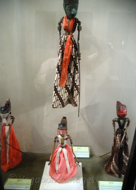 Wooden puppets used in Mahabharata. These ones are of other fringe characters such as Ghatotkacha, Lakshmana, etc.