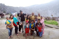 Locals are so excited to get photos clicked with tourists!