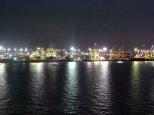 A port at night