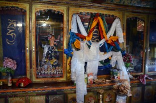 Kali temple but deity always remains covered