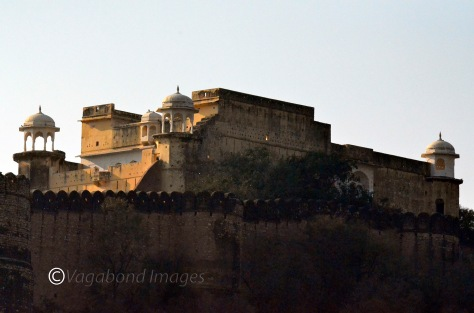Closer look of Kankwari Fort from outside