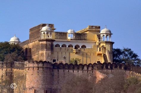 Front view of the Kankwari Fort