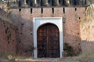 This is the inside gate to enter the fort