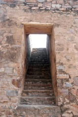 Stairs to upper floors