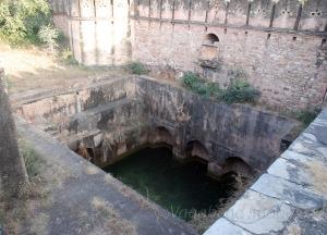 Huge pond on the back of the fort