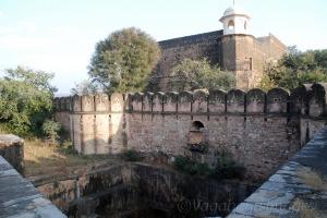 Back side of the fort