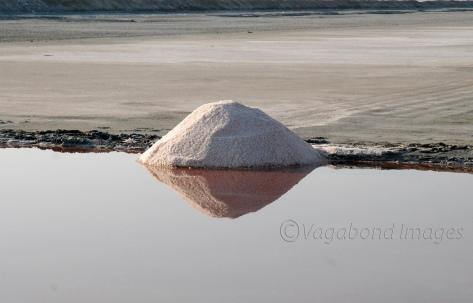 A mound of salt